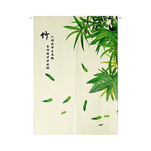 (SewCrane Bamboo Chinese Symbols Japanese Home Restaurant Door Curtain Noren Doorway Room Divider, 33.4