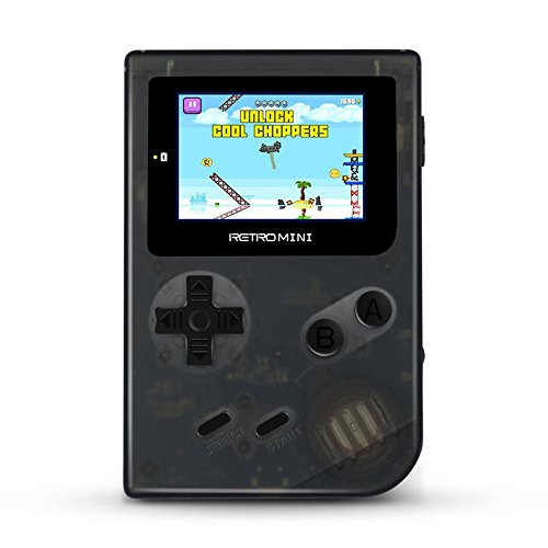 Retro Mini Handheld Video Game System, 16 GB Card, classic 868 built in English GBA games