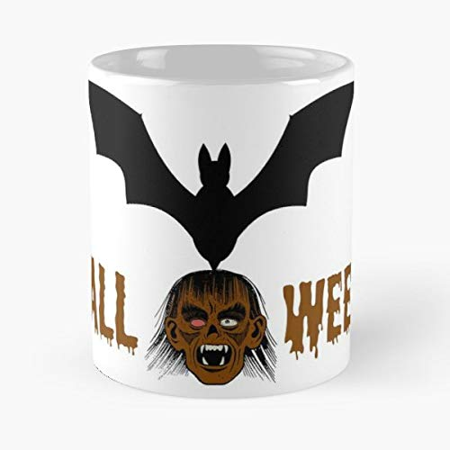 Halloween Horror Grusel Skull - 11 Oz Coffee Mugs Unique Ceramic Novelty Cup, The Best Gift For Halloween.]()