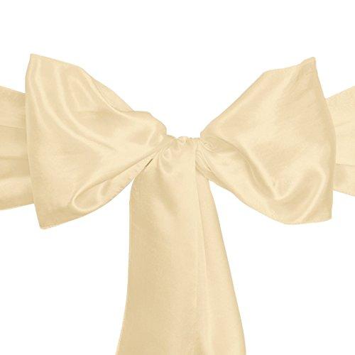 LinenTablecloth Satin Sash  Gold