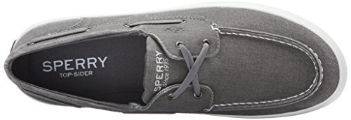Sperry Top-Sider Men's Wahoo 2-Eye Boat Shoe Grey free shipping sast lowest price sale online clearance manchester great sale cheap sale big discount cheap sale cost fEzMp
