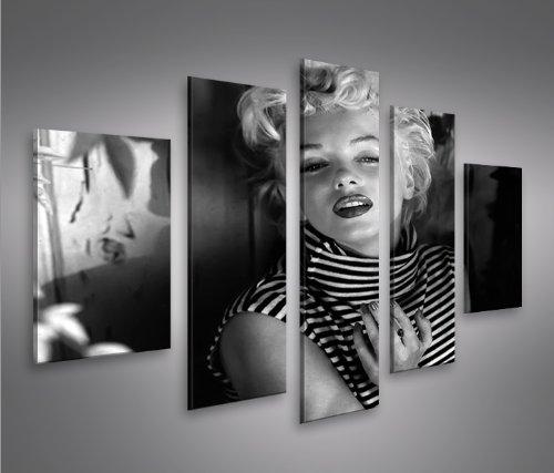 Marilyn Monroe V15-5 5 Quadri moderni su tela - pronti da appendere ...
