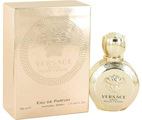 Versace Eros Perfume 3.4 oz Eau De Parfum Spray By VERSACE FOR WOMEN