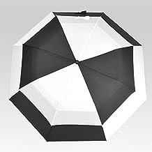Lifeunion Oversize Double Windproof Rain Wind Resistant Auto Open Folding Sun Block UV Golf Umbrella
