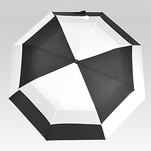 Lifeunion Oversize Double Windproof Rain & Wind Resistant Auto Open Folding Sun Block Uv Golf Umbrella