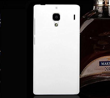 promo code 364e1 ccdc0 RISHABH EXPORTS Xiaomi Redmi 1S Back Cover Matte finish - White with Screen  Guard