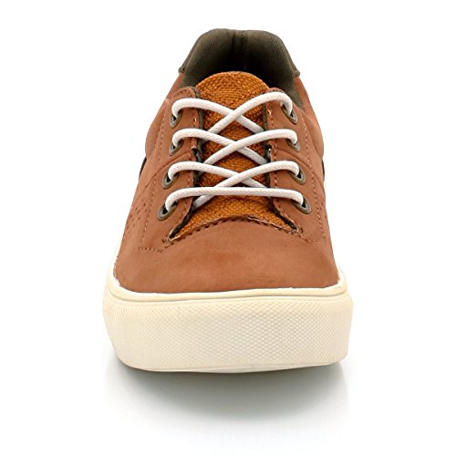 La Redoute Collections Big Boys Lace-Up Trainers 26-40 Brown Size 36 PQiDBsM9Y