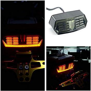 Amazon Com Etbotu Motorcycle Led Brake Tail Light