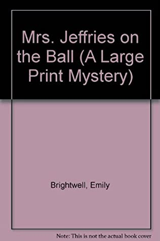 book cover of Mrs Jeffries On the Ball