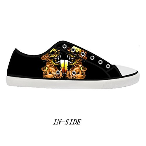Shoes for Women Shoes Casual Canvas Canvas Rock Band Fashion Metallica qRFSxE