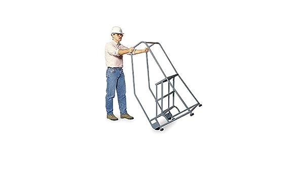 Escalera de rodamiento, riel de manillar, plataforma 30 en H: Amazon.es: Bricolaje y herramientas