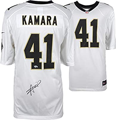 f0f04179 Alvin Kamara New Orleans Saints Autographed Nike White Game Jersey -  Fanatics Authentic Certified - Autographed NFL Jerseys