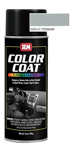 Lt Titanium Color Coat Aerosol-2pack