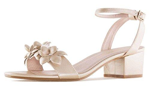 Andres Machado Women's Fashion Sandals Gold Soft Oro JtUjfh