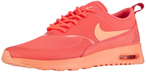 Nike Air Max Thea, Baskets Basses Femme Orange - Orange (HOT LAVA/SUNSET GLOW 801)