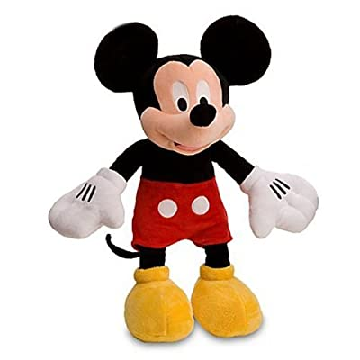 Disney Mickey Mouse Plush 16 Inch Doll: Toys & Games