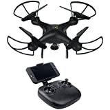 Kanzd Wide Angle Lens 720P HD Camera Quadcopter RC Drone WiFi FPV 1600Mah Battery