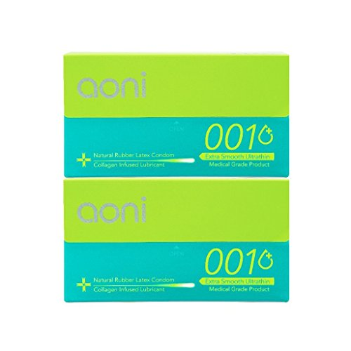 Aoni Condoms Ultrathin Collagen Infused Lubricant product image