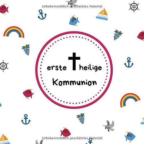 Erste Heilige Kommunion Gästebuch Erinnerungsbuch Zum