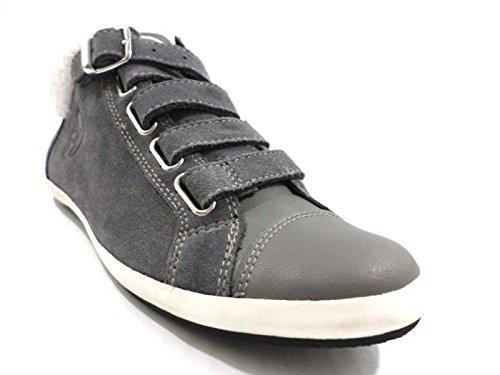scarpe donna ARMANI JEANS 36 sneakers grigio camoscio WH285