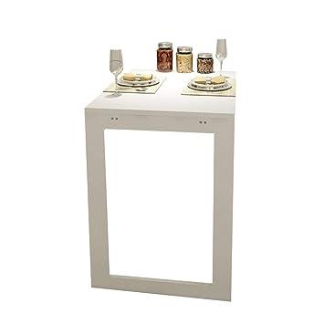 Amazon.de: Klappbare Wand-Drop-Leaf-Tisch, Küche und Esstisch ...