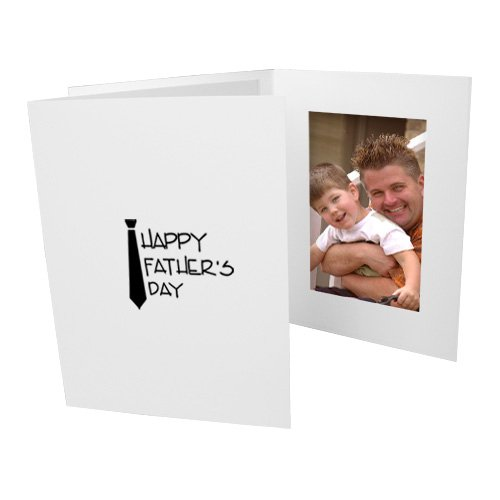 Fathers Day 4x6 Cardboard Event Photo Folders Vertical (50 Folders) by Studio Style By Collectors Gallery