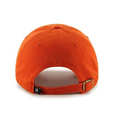 MLB Detroit Tigers Men's Clean Up Cap, Orange