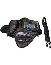 Motorcycle Gas Oil Fuel Tank Bag Waterproof Backpack & Magnetic Motorcycle Tank Bag