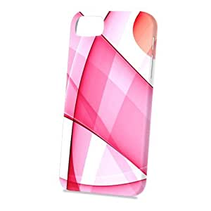 Case Fun Apple iPhone 5 / 5S Case - Vogue Version - 3D Full Wrap - Abstract Pink Pattern