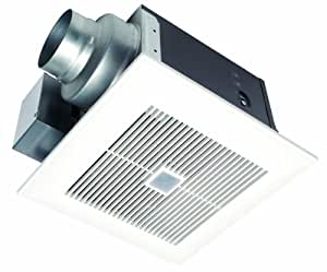 Panasonic FV-11VQC5 WhisperSense 110 CFM Ceiling Mounted Ventilation Fan with Dual Sensor Motion and Humidity Technology
