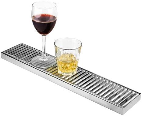 De acero inoxidable de larga bandeja de goteo de 10 cm x 50 cm | Drinkstuff @ de bandeja de goteo, diseño de bandeja de goteo, bandeja de goteo de cerveza