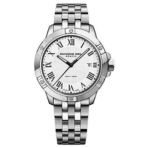 Raymond Weil 8160-ST-00300 Reloj de Pulsera para Hombre: Amazon.es: Relojes