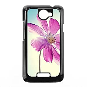 Flower HTC One X Cell Phone Case Black FFT