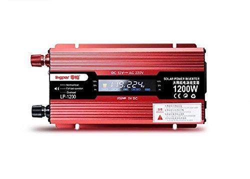 Car Inverter/Household Inverter /12V/24V to 220V/digital Dual Display /1200W/1600W/2200W/2400W/ Household car Inverter boosterCar Inverter/Household Inverter /12V/24V to 220V/digital Dual Display