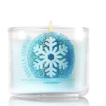 Bath & Body Works Mini Candle Vanilla Snowflake 2016
