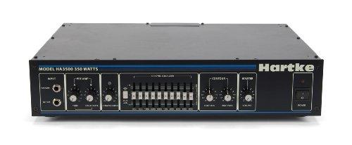 Hartke 3500C Bass Guitar Amplifier Head, 350 Watts (Best Bass Guitar Amp Heads)