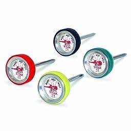 CDN ST170 Steak Thermometers, Set of 4