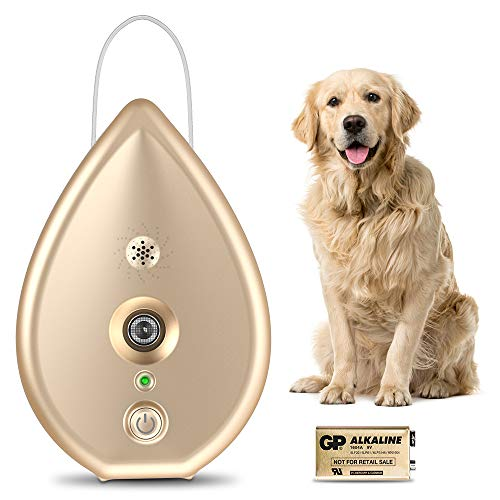 Modus Automatic Anti Barking Device, Dog Barking Control Device with 4 Adjustable Ultrasonic Level Control, Ultrasonic Dog Bark Deterrent Indoor Bark Box Safe Dogs, Sonic Bark Control Deterrent
