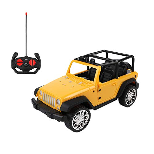 Baby Christmas Gift Toys Car,Easy to Control,Radio Remote Controlled Jeep Car Toys Car for Kids (yellow)