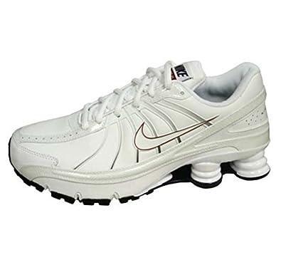 Nike - shox turbo vii - 352628-111-44.5-10.5 - blanc baskets mode ... 03af7ac50