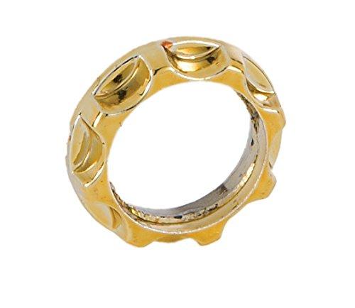 B&P Lamp Brass Finish Ring For Threaded Candelabra Socket (Threaded Candelabra)