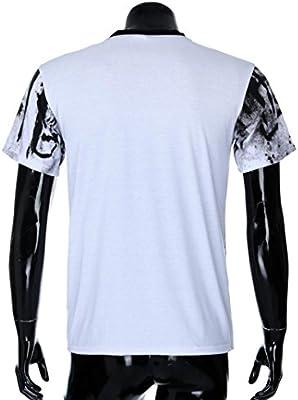 Camisas de Hombre, Camiseta de Hombre Hombres Manga Corta Muscle ...