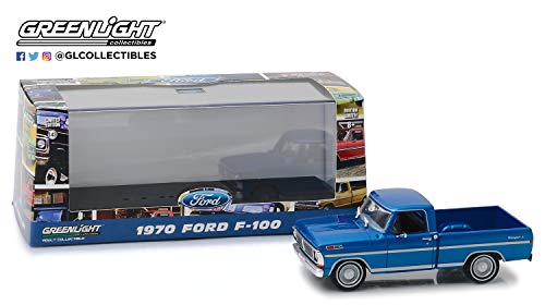 1979 Ford F-series Trucks - 1979 Ford F-Series Truck in Dark Blue Poly, Authentic Decoration, Real Rubber Tires, True-to-Scale Detail, Protective Acrylic Case, Limited Edition