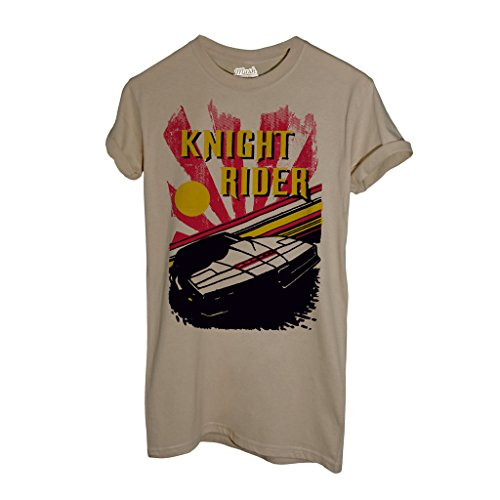 T-Shirt KITT SUPERCAR-KNIGHT RIDER - FILM by iMage Dress Your Style