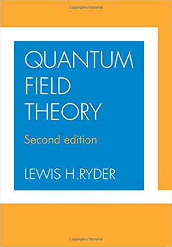 Quantum field theory lewis h ryder 9780521478144 amazon books quantum field theory 2nd edition fandeluxe Gallery