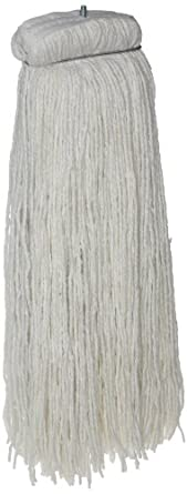 Zephyr Z-Ray 4-Ply Synthetic Screwflat Cut End Mop Head (Pack of 12)