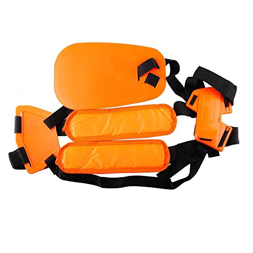 Podoy Trimmer Shoulder Strap, Mower Trimmer Harness Strap, Double Shoulder Nylon Belt for Brush Cutter or Gardenning (Comaptible with STIHL FS, KM Series String Trimmer) Replace 4119 710 9001