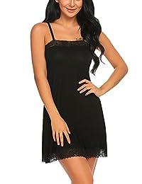Avidlove Women's Sleepwear Slip Nightgown Chemises Nightshirt