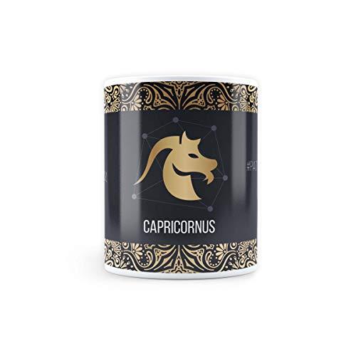 Mc Sid Razz Capricorn Zodiac Sign Ceramic Coffee Mug |Zodiac Sign Christmas Gift/Birthday Gift Microwave Safe Printed