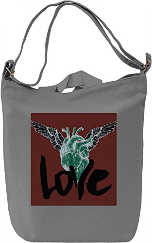 Dark Side Of Love Borsa Giornaliera Canvas Canvas Day Bag| 100% Premium Cotton Canvas| DTG Printing|
